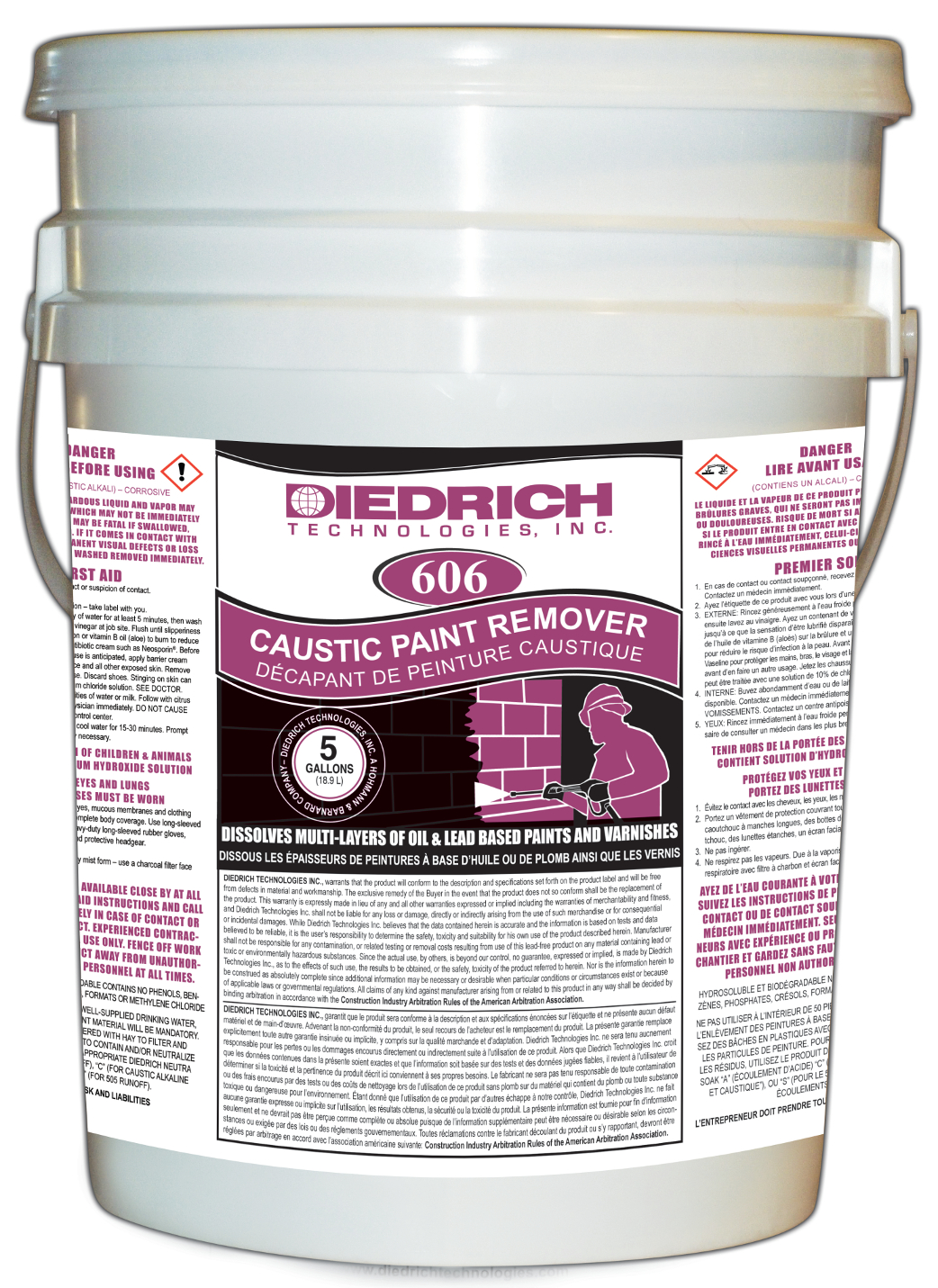 606 CAUSTIC PAINT REMOVER