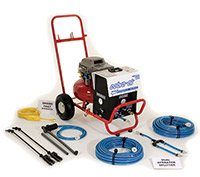 The Cobra Chemical Sprayer is the most efficient way to apply building restoration chemicals.