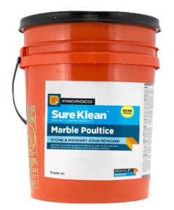 Prosoco Marble Poultice Stone and Masonry Stain Remover, one of the many restoration chemicals sold by Restoration Direct